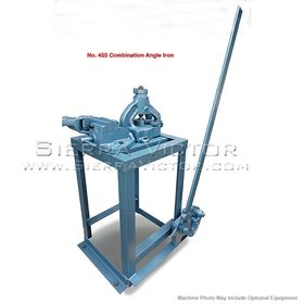 New ROPER WHITNEY Combination Angle Iron Bender/Shear/Notcher: No. 455 for sale