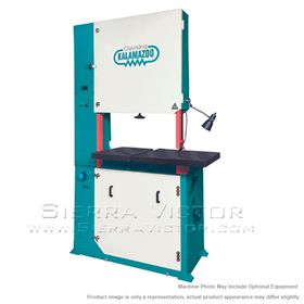 New CLAUSING Large Capacity Vertical Bandsaws for sale