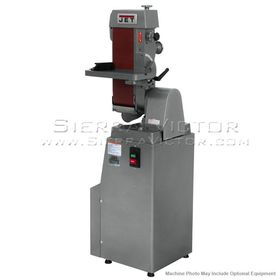 "JET J-4300A, 6"" x 48"" Industrial Belt Finishing Machine 1Ph, 414600, 414601"