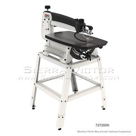 """JET JWSS-22 22"""" Scroll Saw with Stand and Foot Switch, 727200K"""
