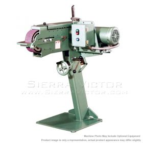 New BURR KING 2-Wheel Belt Grinder: MODEL 979 for sale