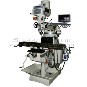 New U.S. INDUSTRIAL Manual Variable Speed Milling Machine Package for sale
