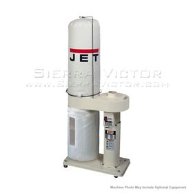 JET DC-650 1HP CFM Dust Collector with, 708642BK