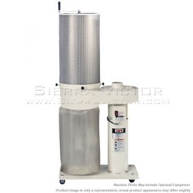 JET 650 CFM Dust Collector with 2 Micron Canister Filter, 708642CK