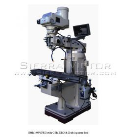 New GMC Vertical Knee Mill for sale