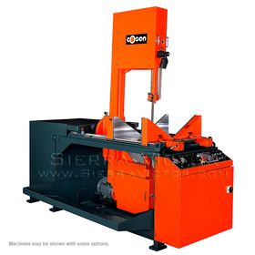 New COSEN Vertical Semi-Automatic Hydraulic Double Miter-Cutting Bandsaw: SVC-670DM for sale