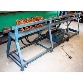 Used LOCKFORMER Hydraulic 5 Station Duct Notcher for sale