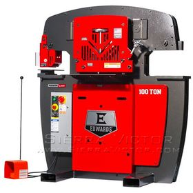New EDWARDS Hydraulic Ironworker JAWS IV: IW100 for sale
