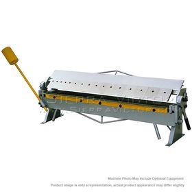 New BIRMINGHAM Bench Type Box & Pan Brake with Counter Weight NU-4816-CT for sale