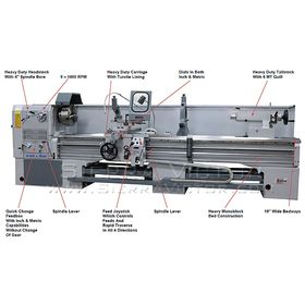 New LION Engine Lathe: 25-CU for sale