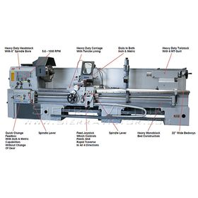 New LION Engine Lathe: 40-CU for sale