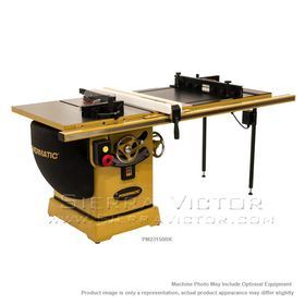 """POWERMATIC PM2000 Tablesaw 3HP 1PH 230V 50"""" Accu-Fence System, Router Lift PM23150RK"""