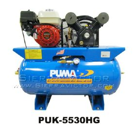 PUMA 5.5 HP Professional/Commercial Gas-Powered Air Compressor PUK-5530HG