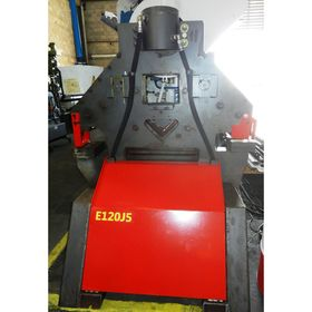 Used EDWARDS 120 Ton Hydraulic Ironworker