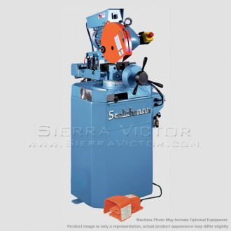SCOTCHMAN Semi-Automatic Circular Cold with Pnematic Power Down Feed CPO 275 PKPD