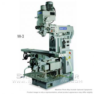 New SHARP Vertical/Horizontal Combination Mill for sale