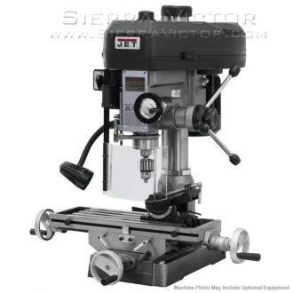 JET JMD-15 Mill/Drill With R-8 Taper 115/230V 1Ph, 350017