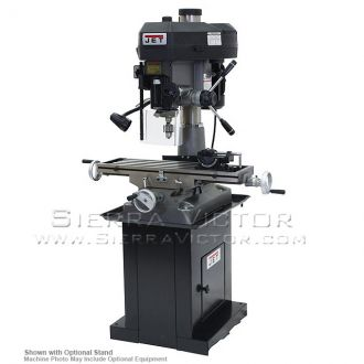 JET JMD-18 Mill/Drill With R-8 Taper 115/230V 1Ph, 350018