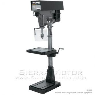 """JET J-A5816, 15"""" Variable Speed Floor Model Drill Press 115/230V 1Ph, 354550, 354551"""