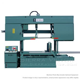New W.F. WELLS Semi-Automatic Twin Post Band Saws for sale