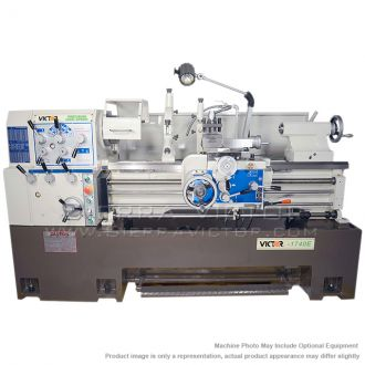 """New VICTOR Precision Heavy Duty High Speed Lathe with 3-1/8"""" Spindle Bore for sale"""