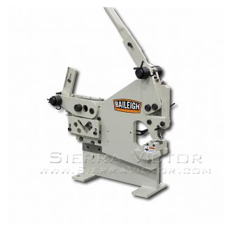 BAILEIGH Manual Iron Worker with Punch SW-22M-P