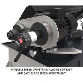 JET ELITE EHB-1018V, 10 x 18 Variable Speed Bandsaw, 891060